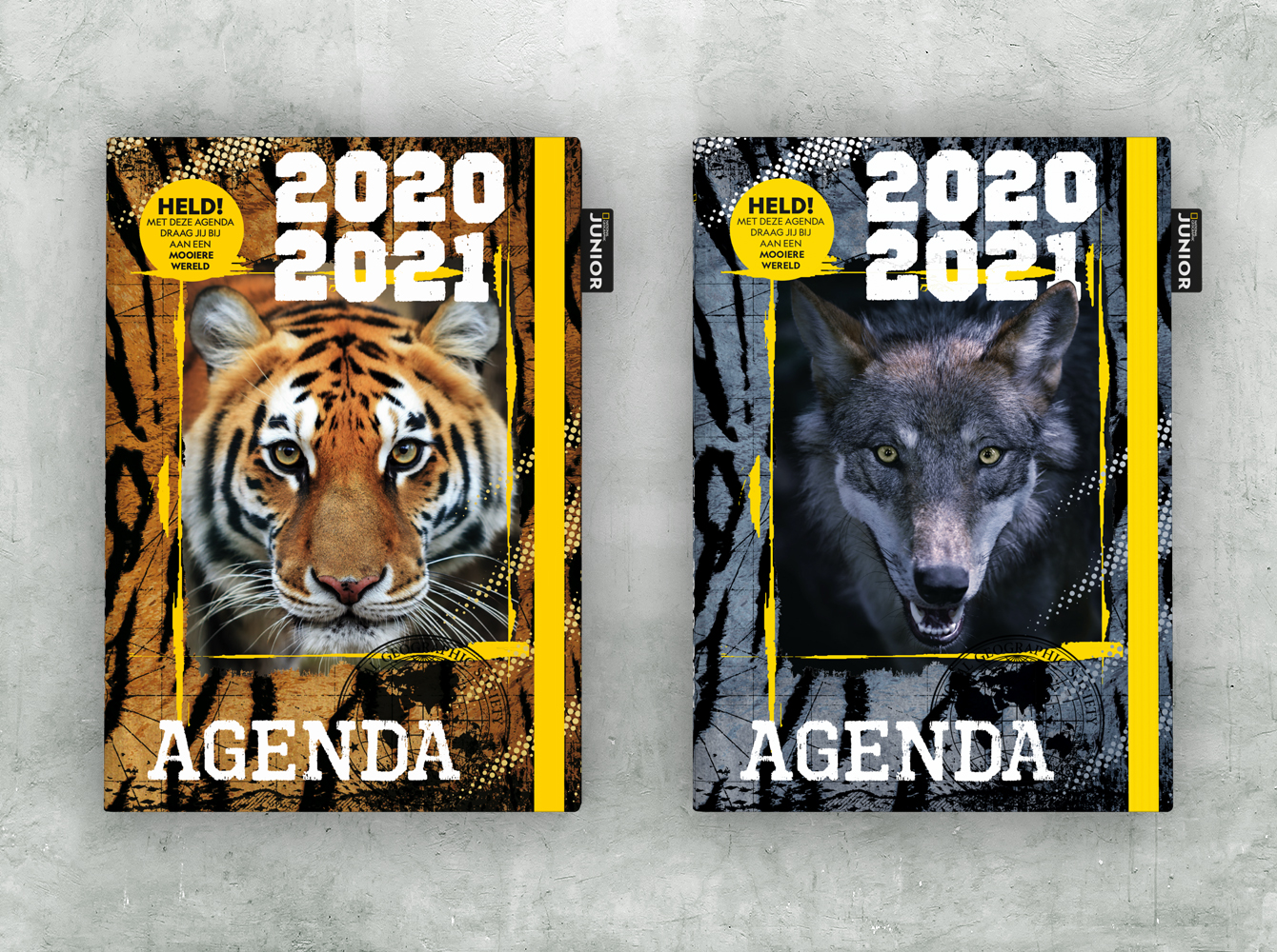 Agenda National Geographic Junior